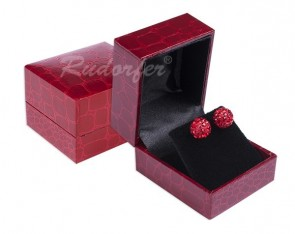 Ring Gift Box w/ Leatherette Overlay