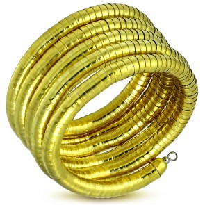 Fashion Trendy Multi-Wrap Flexible Snake Bendy Bracelet