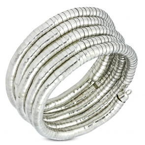 Fashion Trendy Multi-Wrap Flexible Snake Bracelet