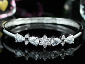 5 Carat Bracelet - w/ Various Shaped Crystal Swarovski® Elements Crystals